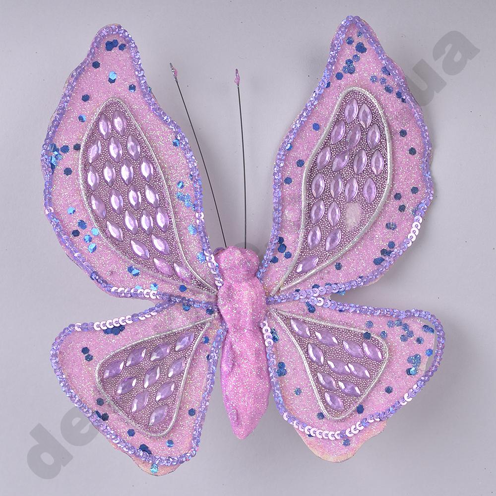декоративные бабочки сиреневые
