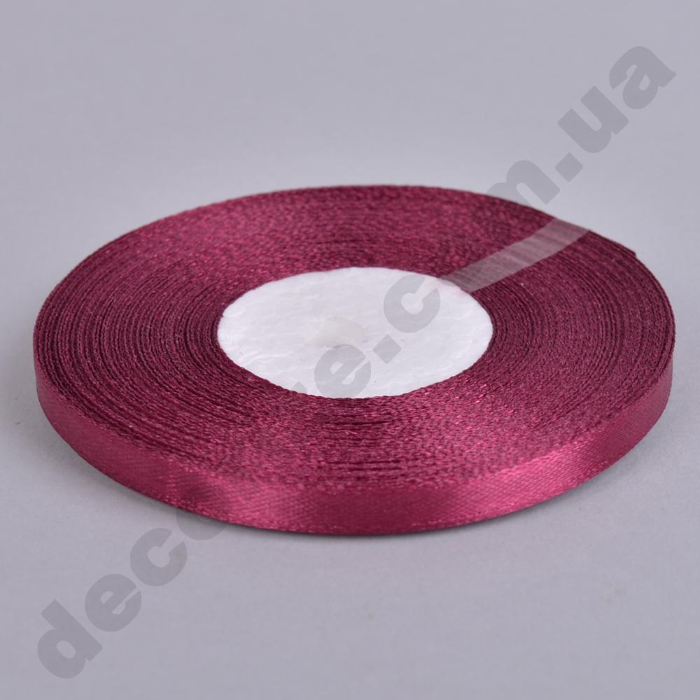 стрічка атласна 0.65см * 35 (колір №83 -марсала-фіолет)