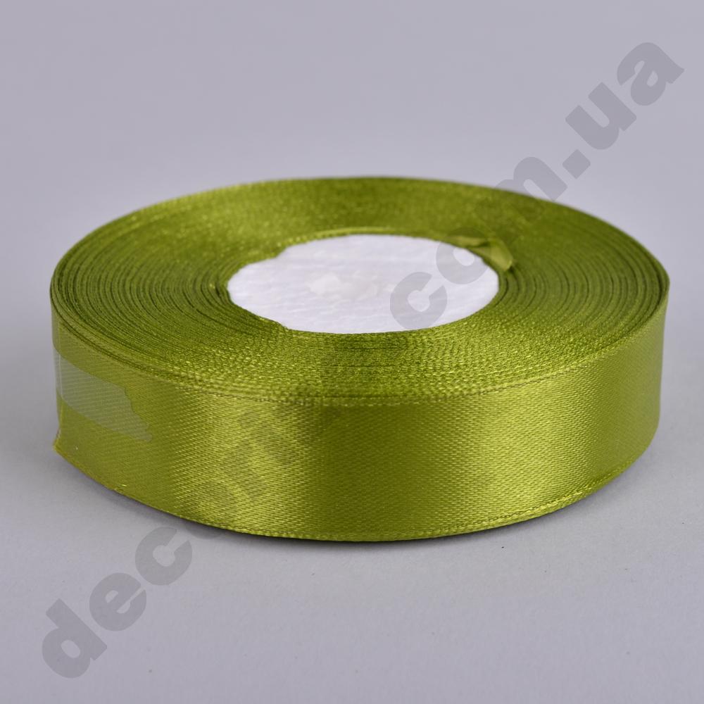стрічка атласна 2см * 33метра (колір №95 -оливковий)