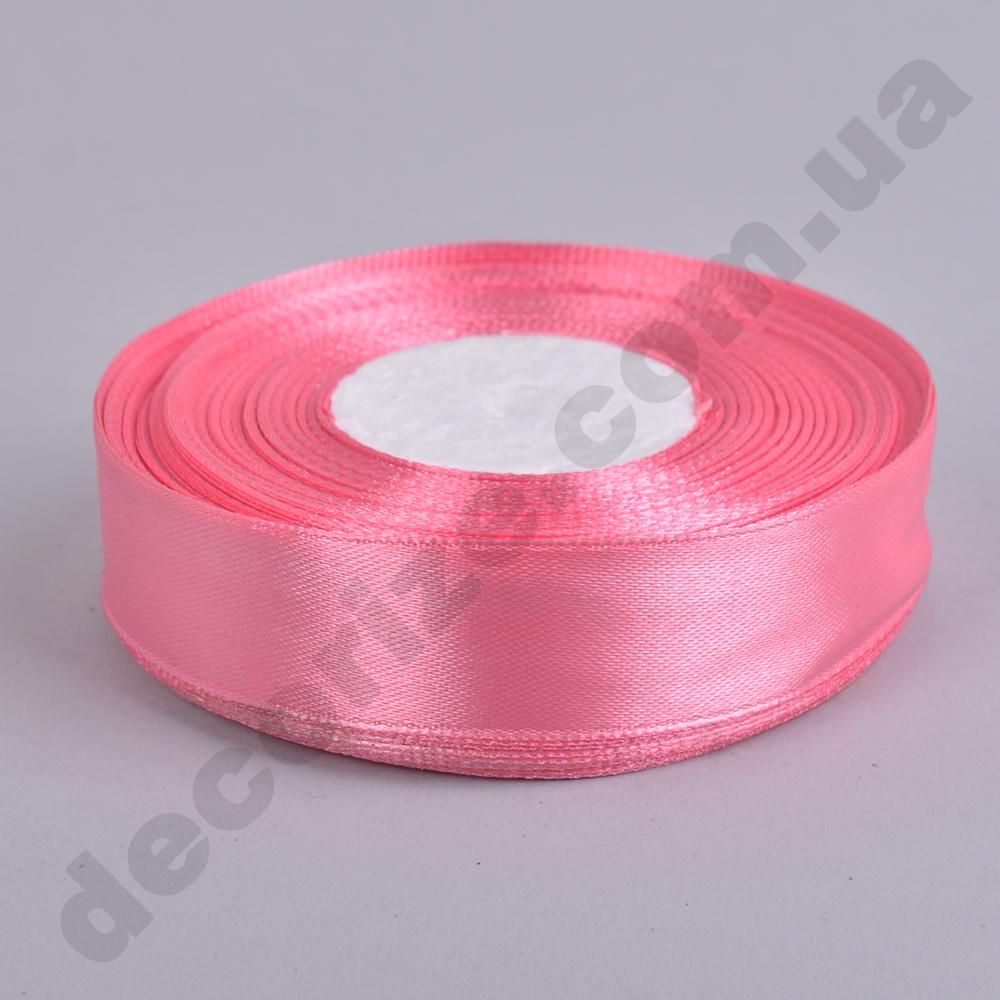 стрічка атласна 2см * 33метра (колір №82 -пастель рожевий)