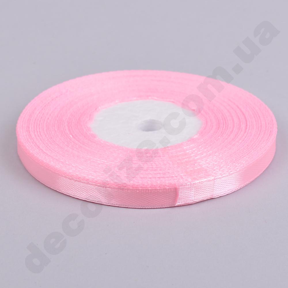 стрічка атласна 0.65см * 35 (колір №04-рожевий)