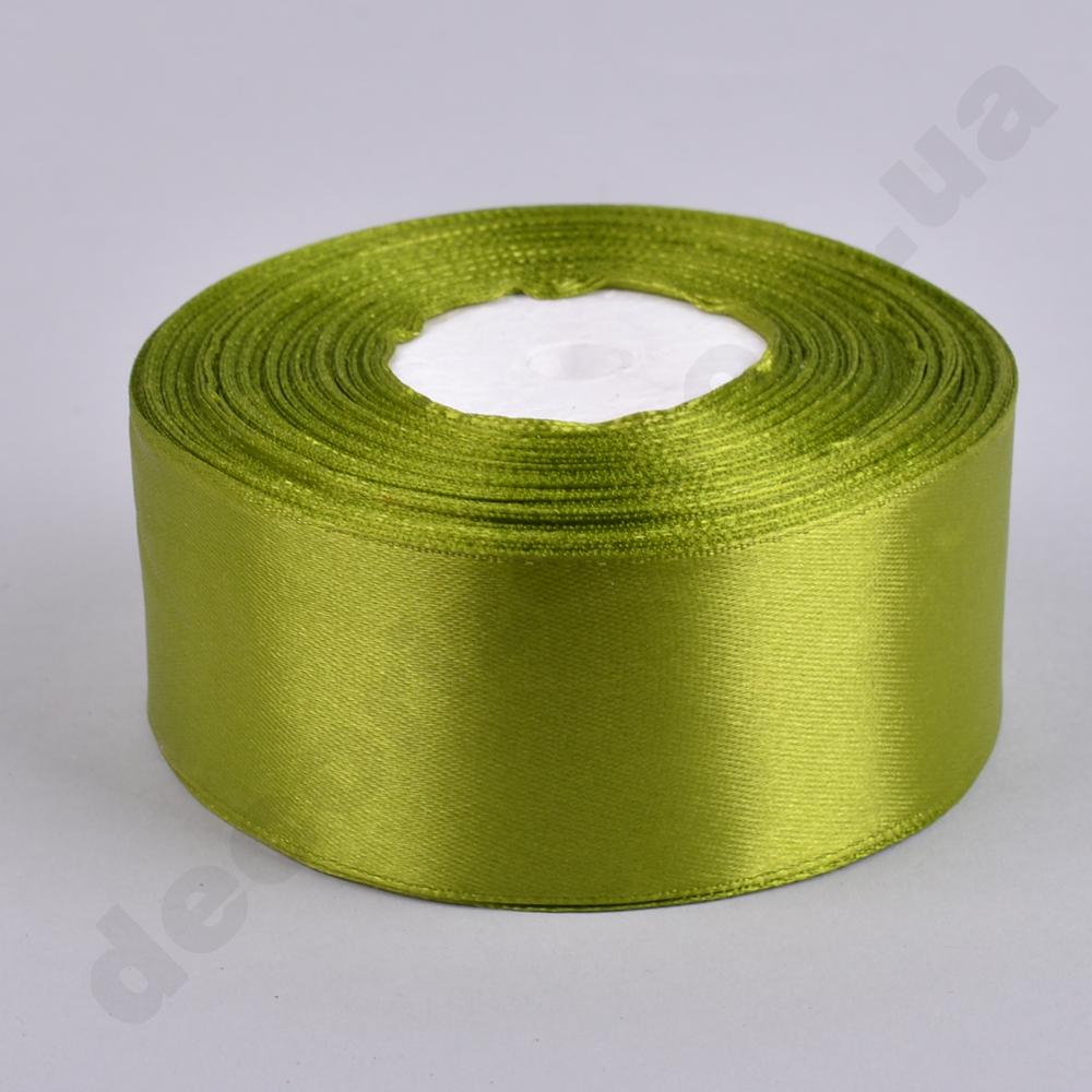 стрічка атласна 3.8см * 35 ярдів (колір №95-зелений)