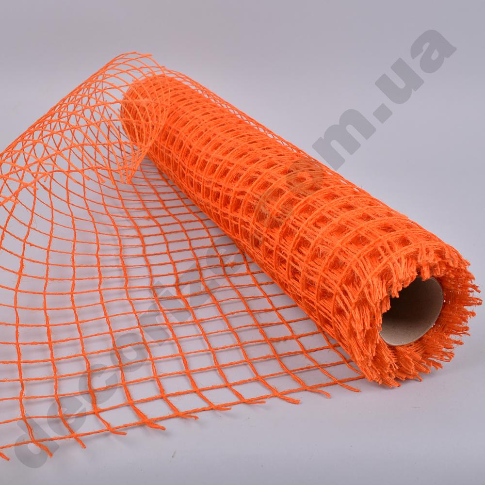 сетка рыбацкая оранжевая