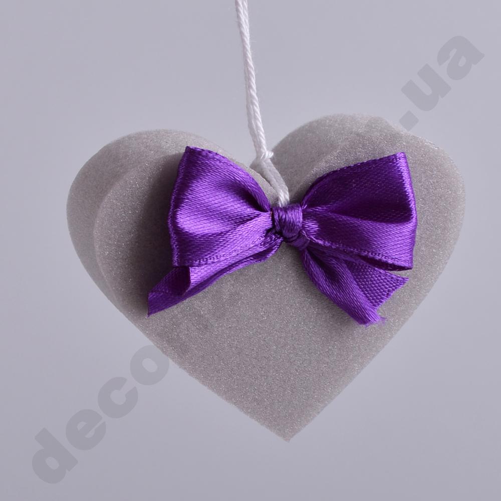 Подвеска - сердце из пенополистирола
