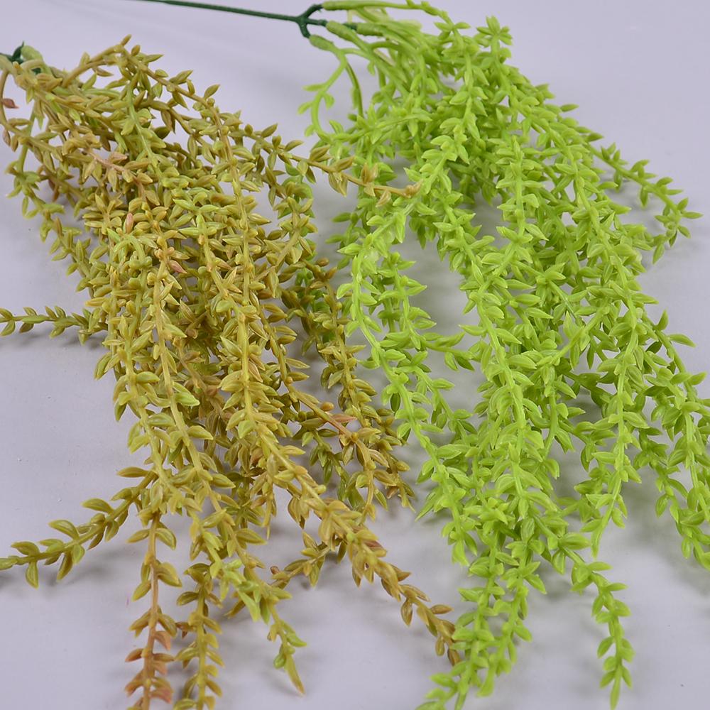 свисающая зелень латексная салатовая