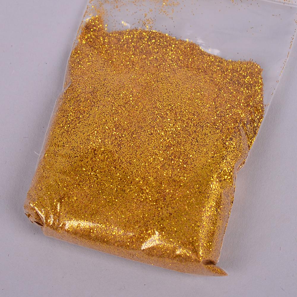 блестки -глиттер золотой