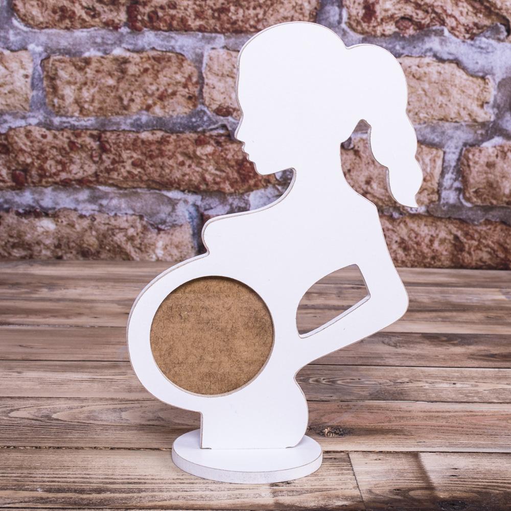 Фоторамка беременная женщина