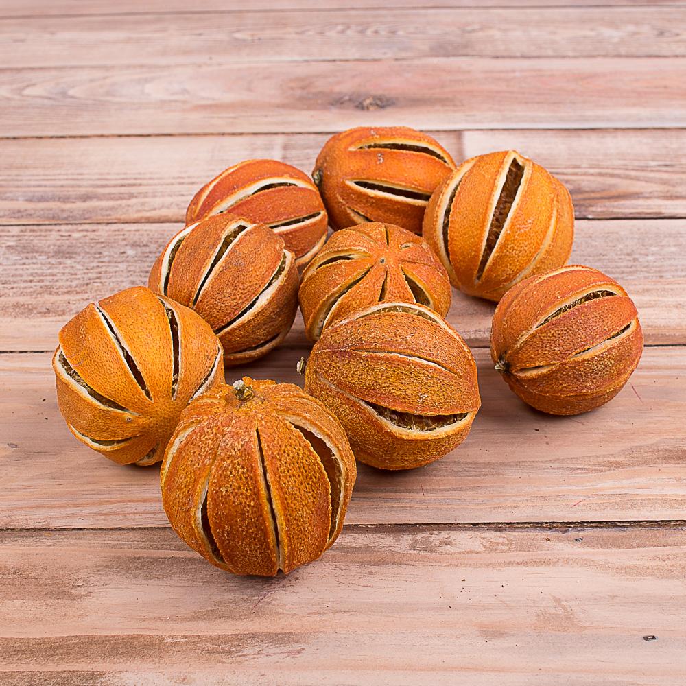 апельсины натуральные круглые сушеные (200грамм)