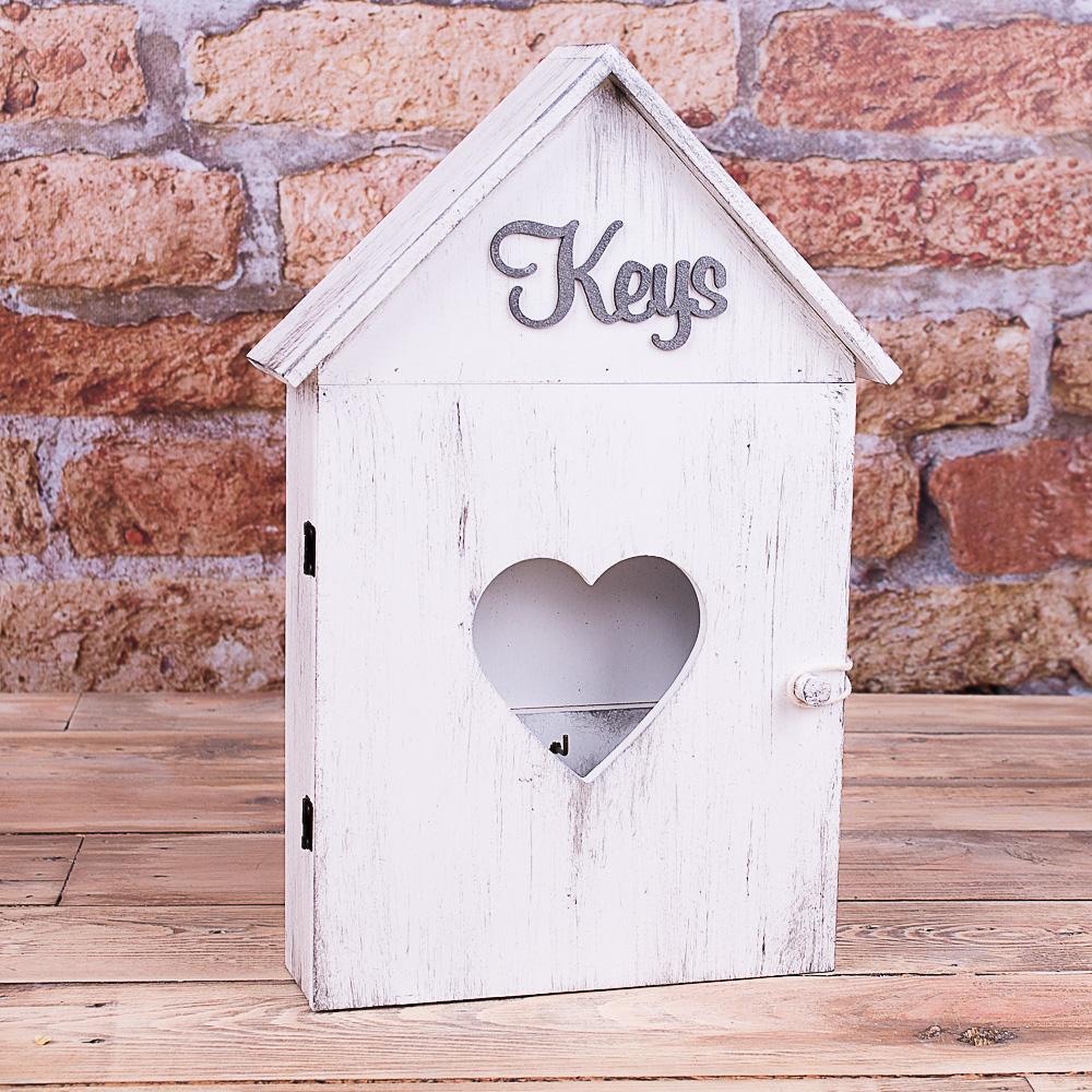"""ключниця""""keys"""" біла"""