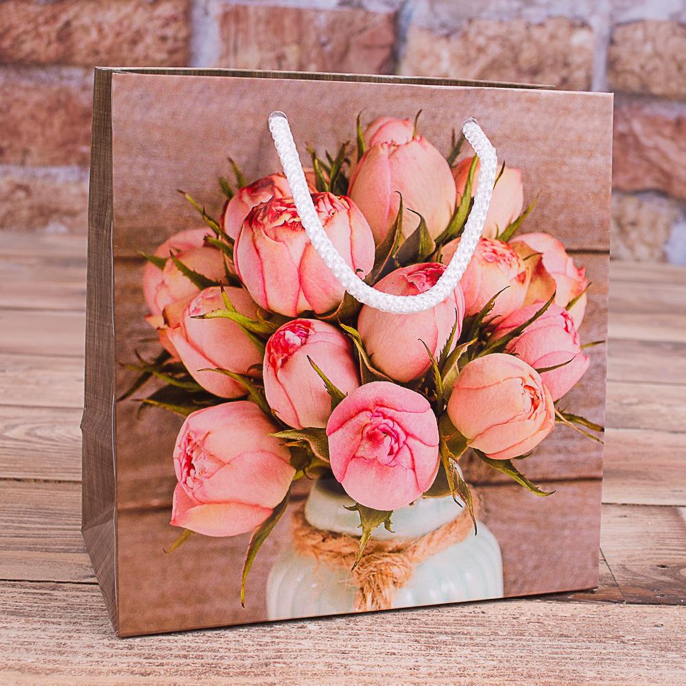 """(W0-45) пакет 16*16  """"тюльпаны"""""""