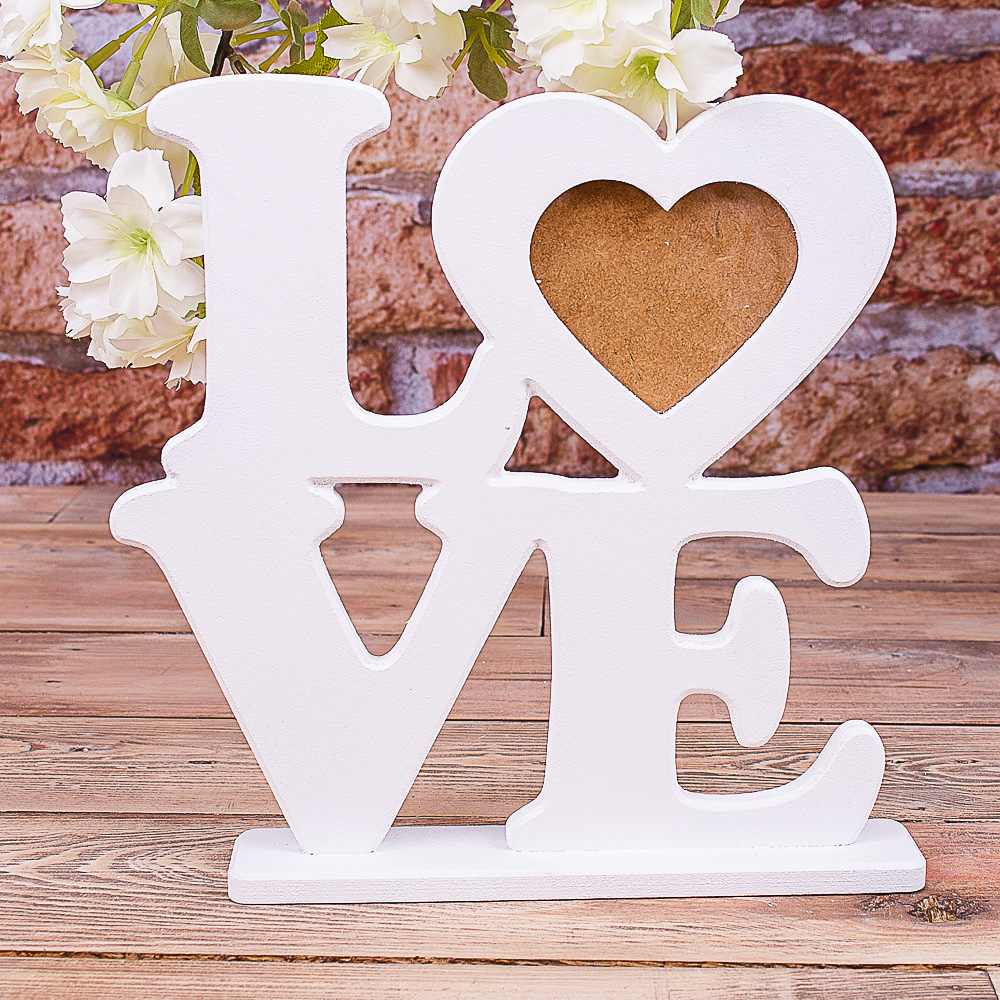 Фоторамка LOVE на подставке