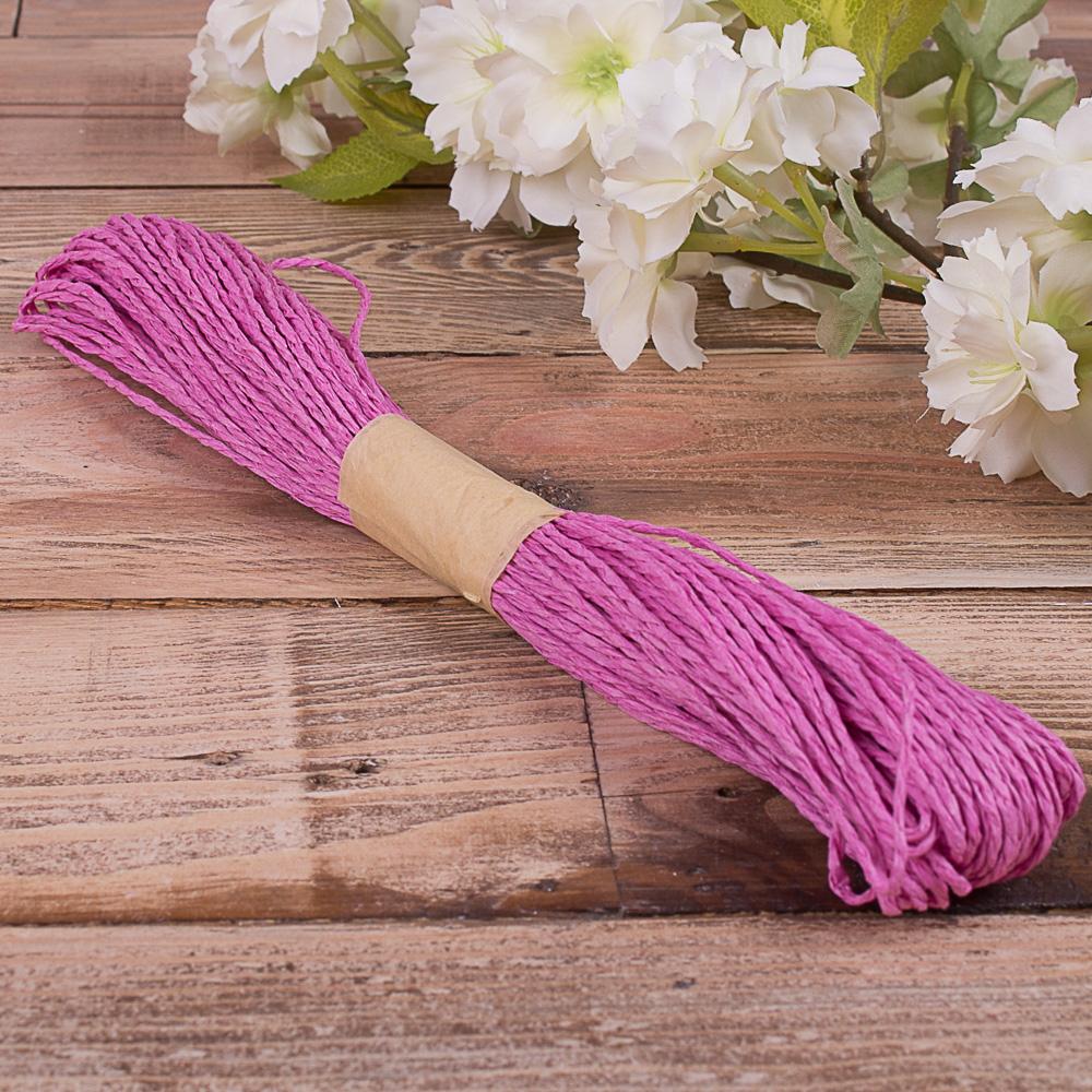 шнурок для декора сливовый