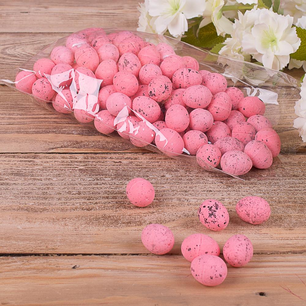 """Яйца декоративные """"супер-мини"""" розовые"""