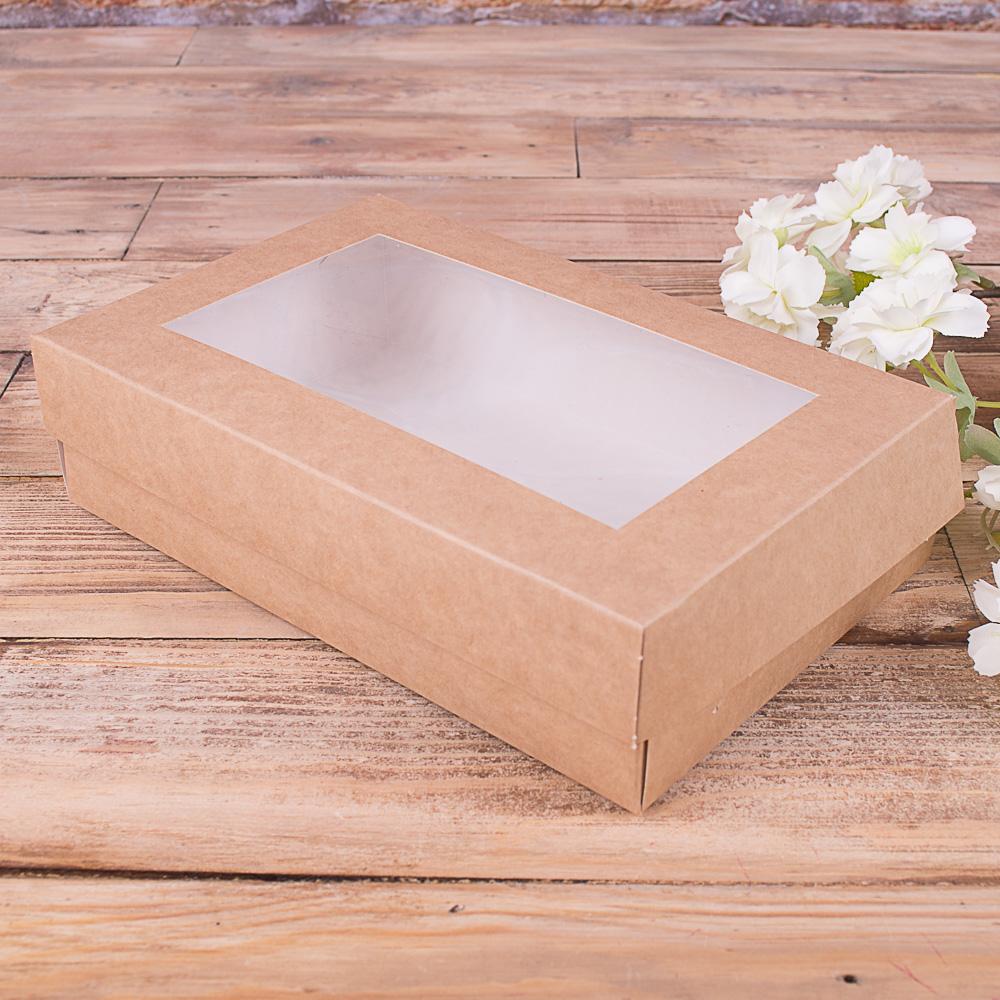 """Коробка с прозрачным окном """"мальвина"""""""