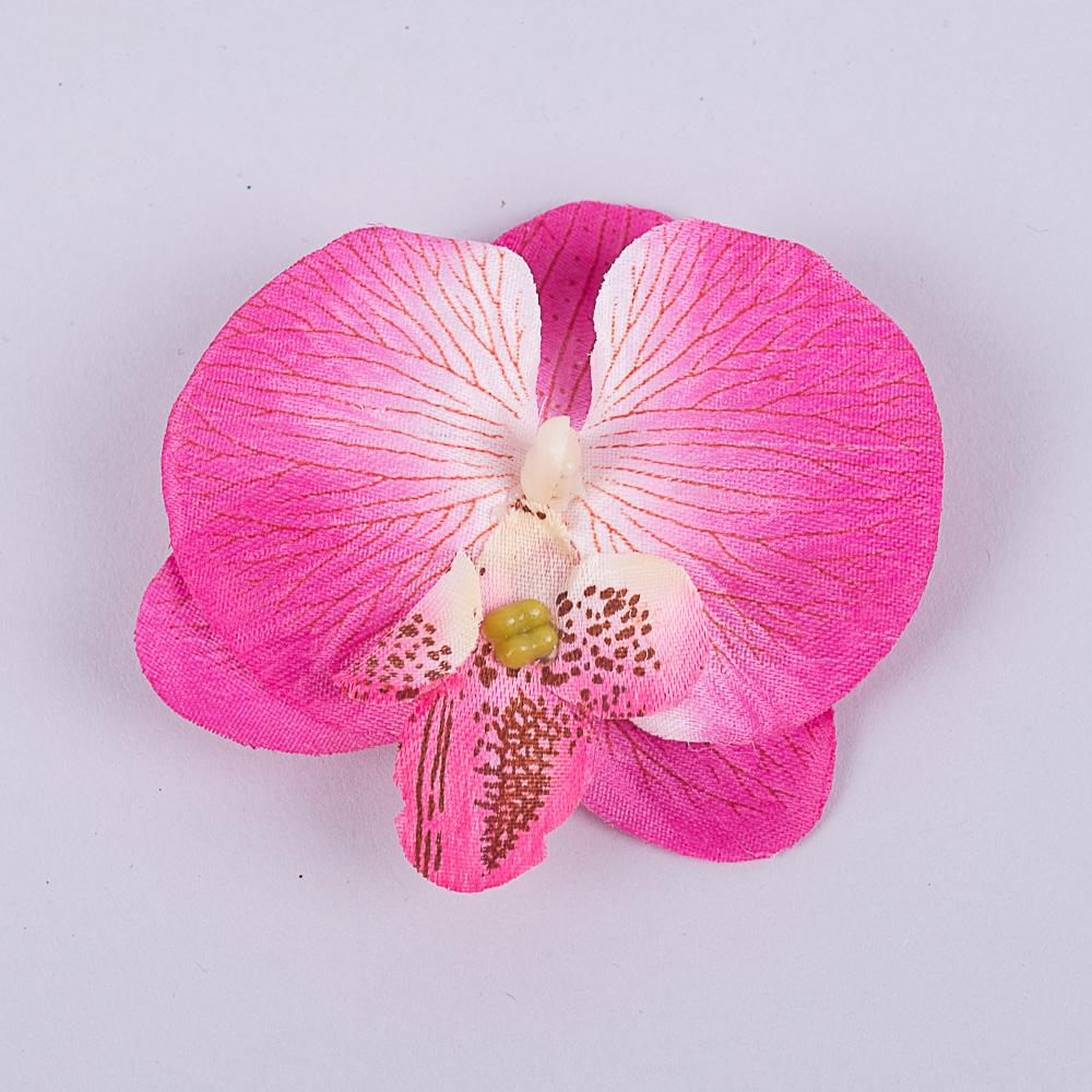 головка орхидеи малиновая