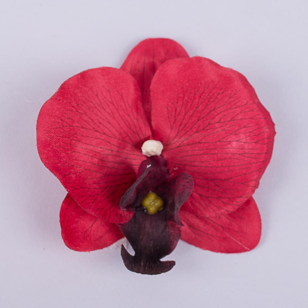 головка орхідеї червона