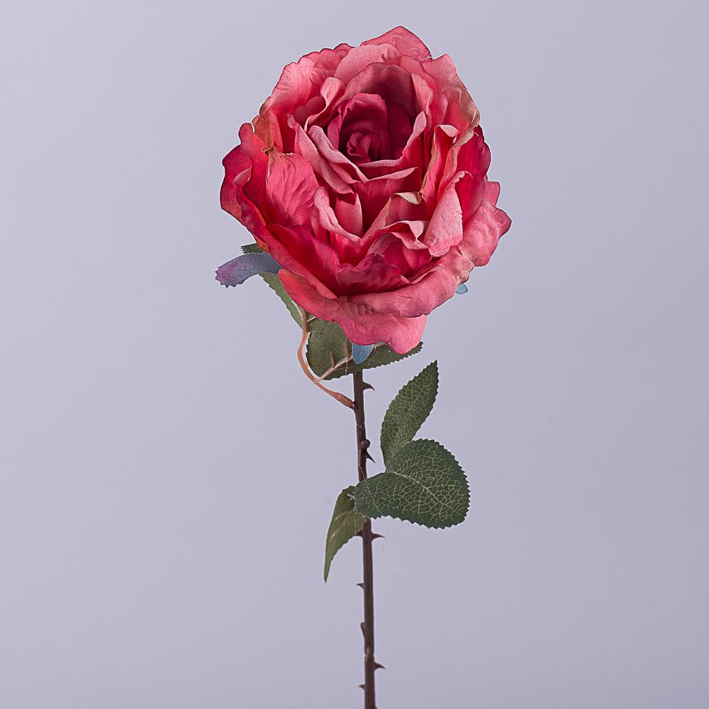 """Роза премиум """"мятая"""" коралловая"""