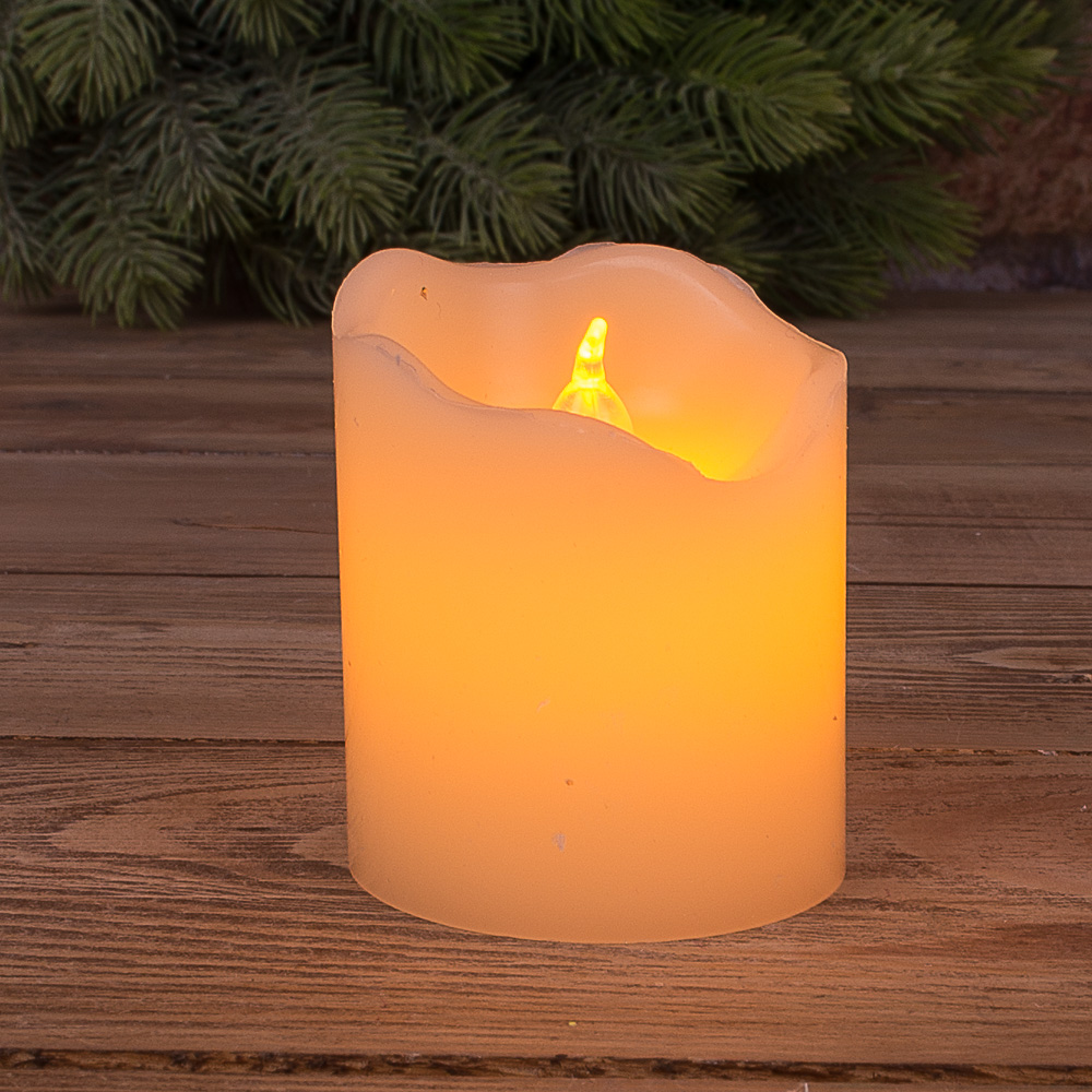 свеча LED с воском