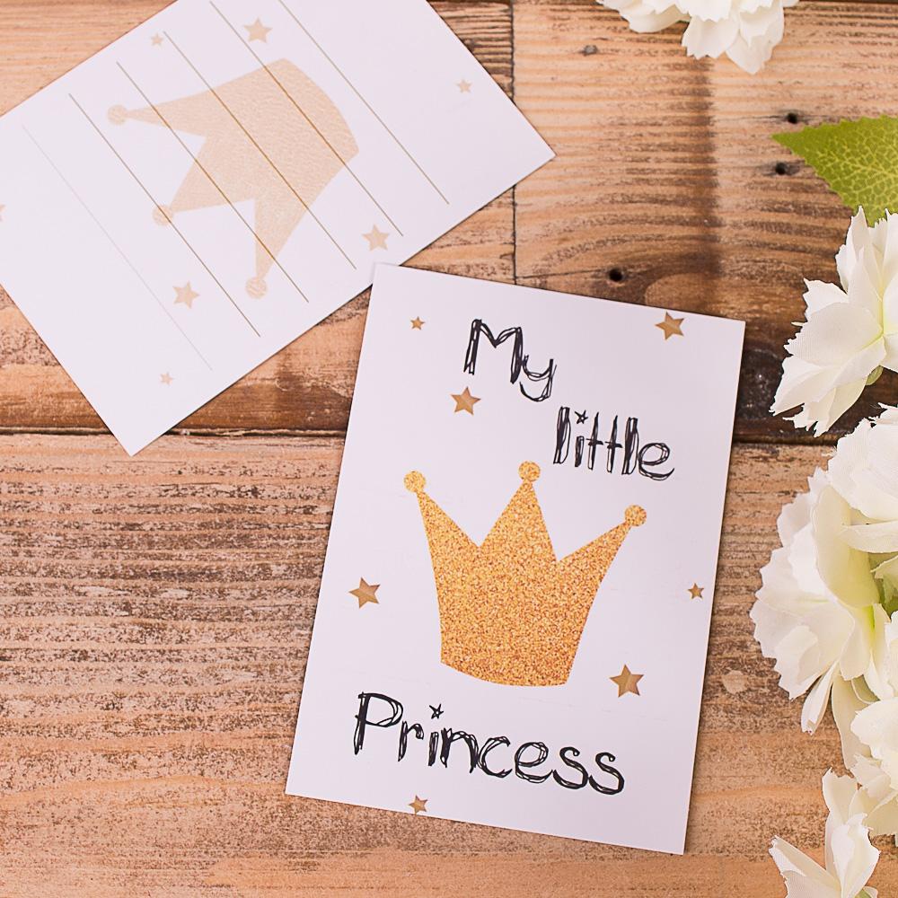 """листівка міні """"my little princess"""""""