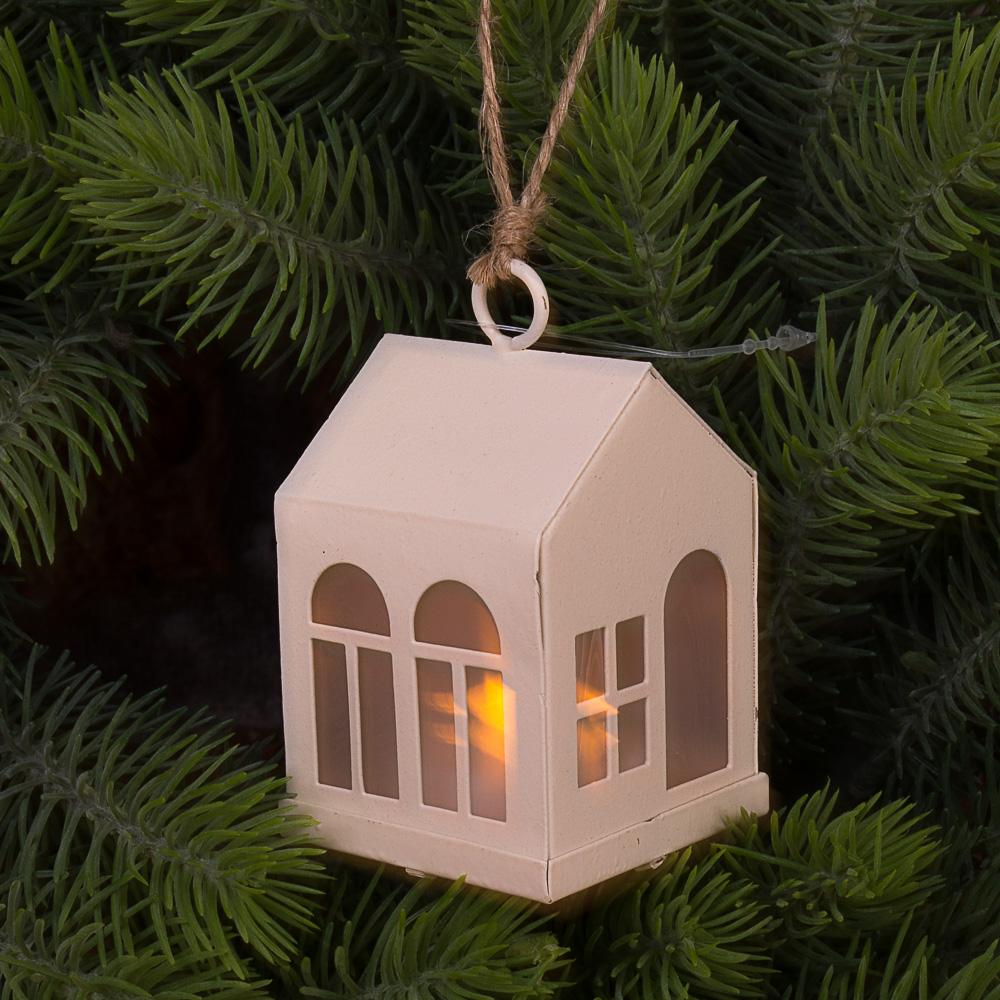 домик подвесной LED подсветка окна
