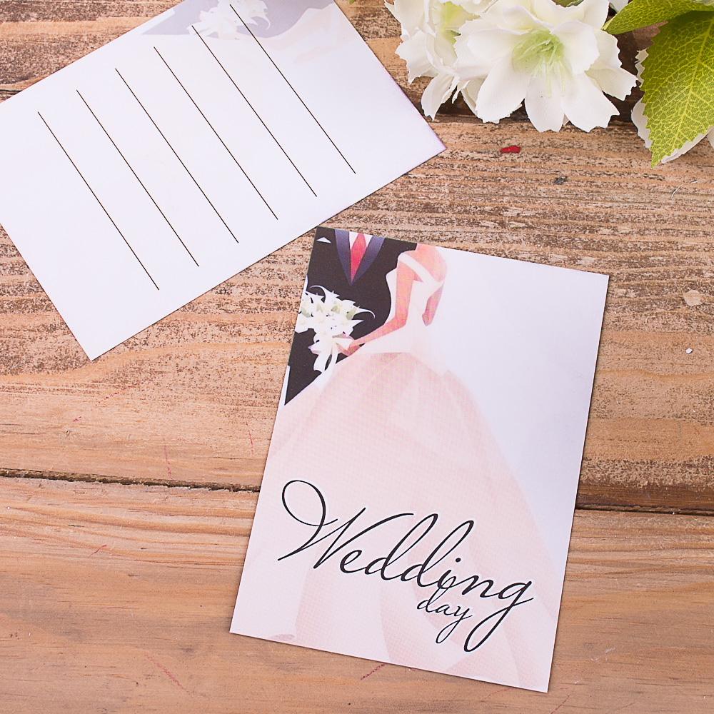 """листівка міні """"Wedding day"""""""
