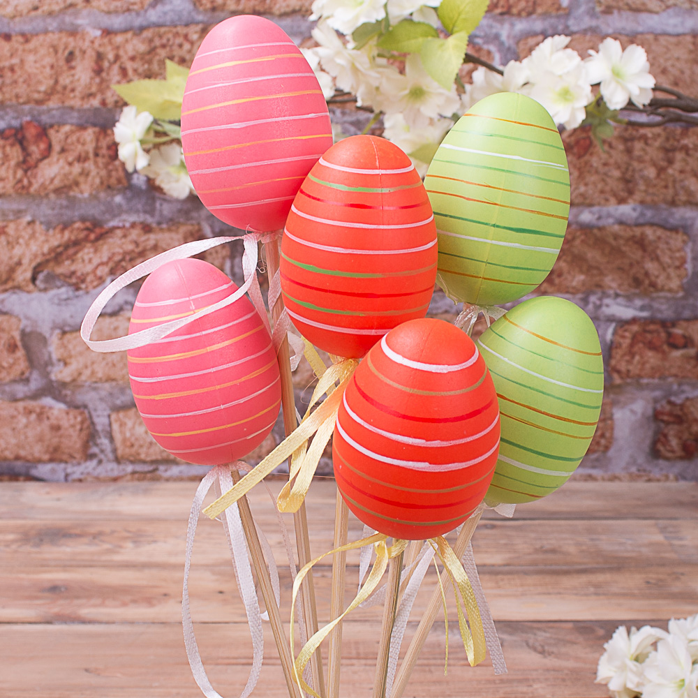 яйца на палочке микс (6шт)