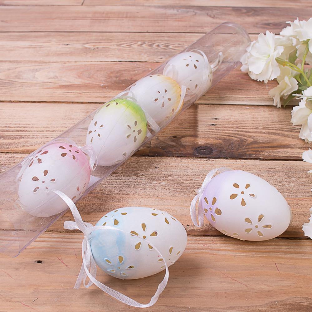 Яйца микс в тубусе 6 шт