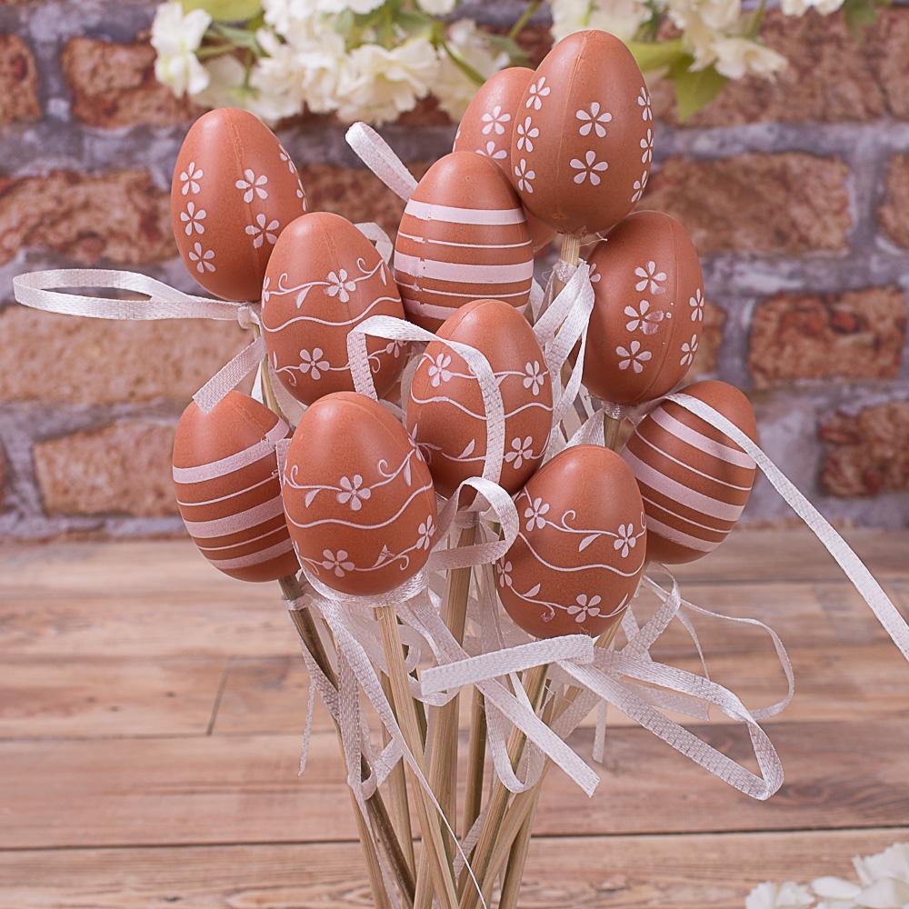 Яйца на палочке маленькие 12 шт