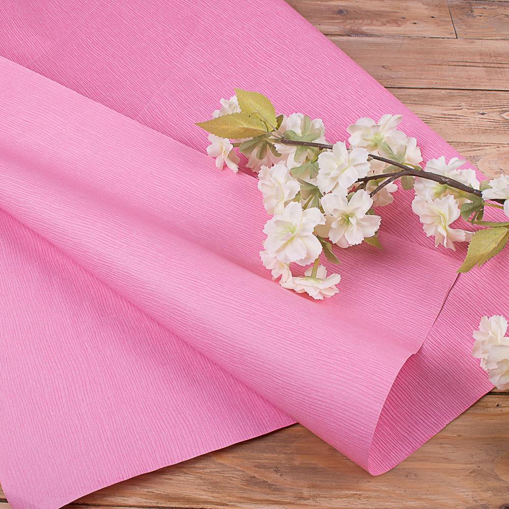 """папір фактурний з тисненням (""""рожевий в смужку"""")"""