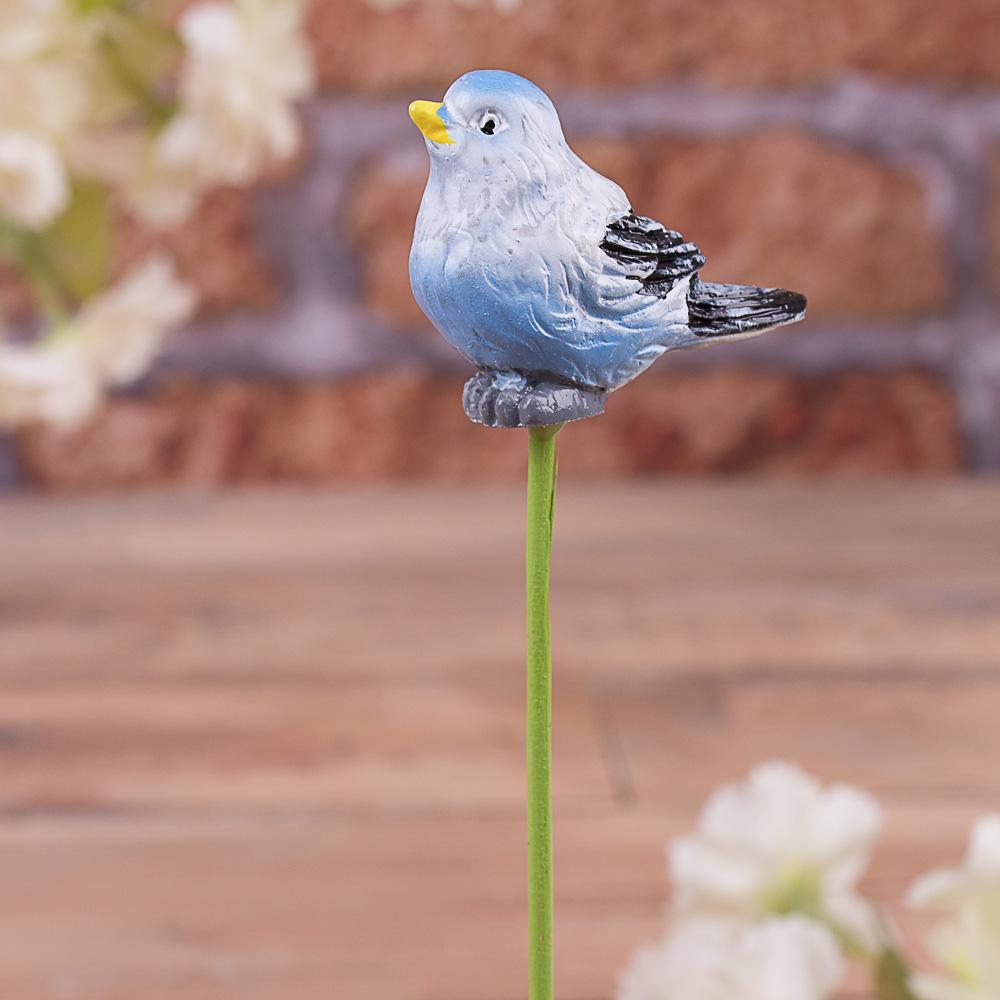 топпер -птичка синяя
