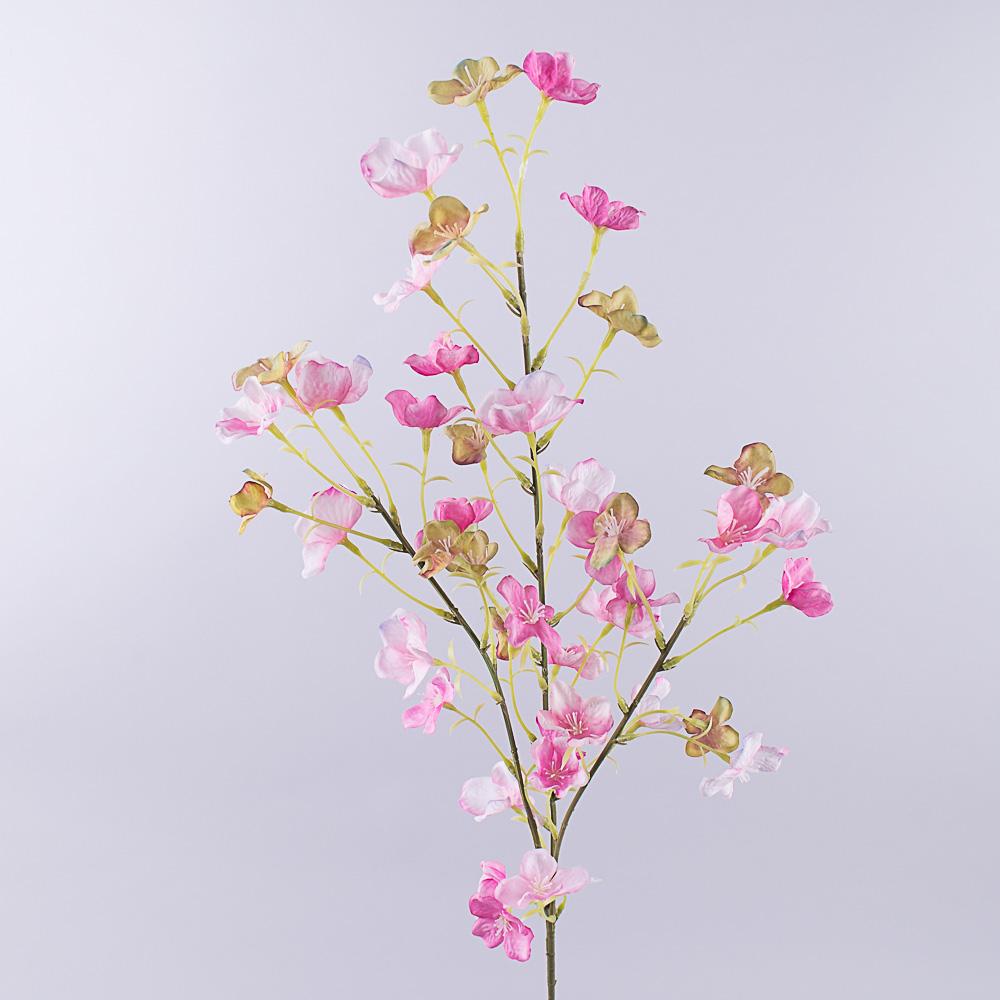 гілка з квітами (рожева)