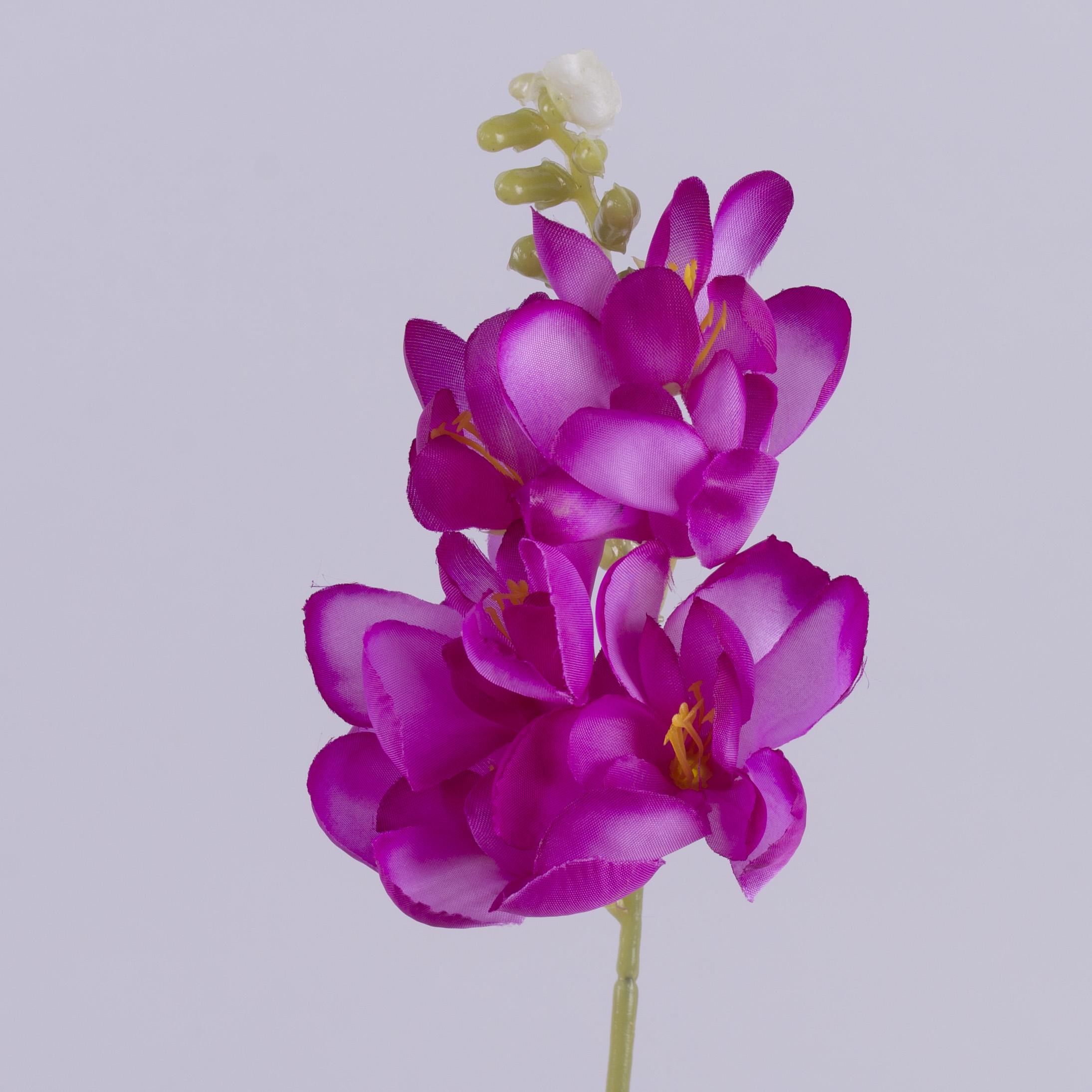 головка фрезии атласная ярко фиолетовая