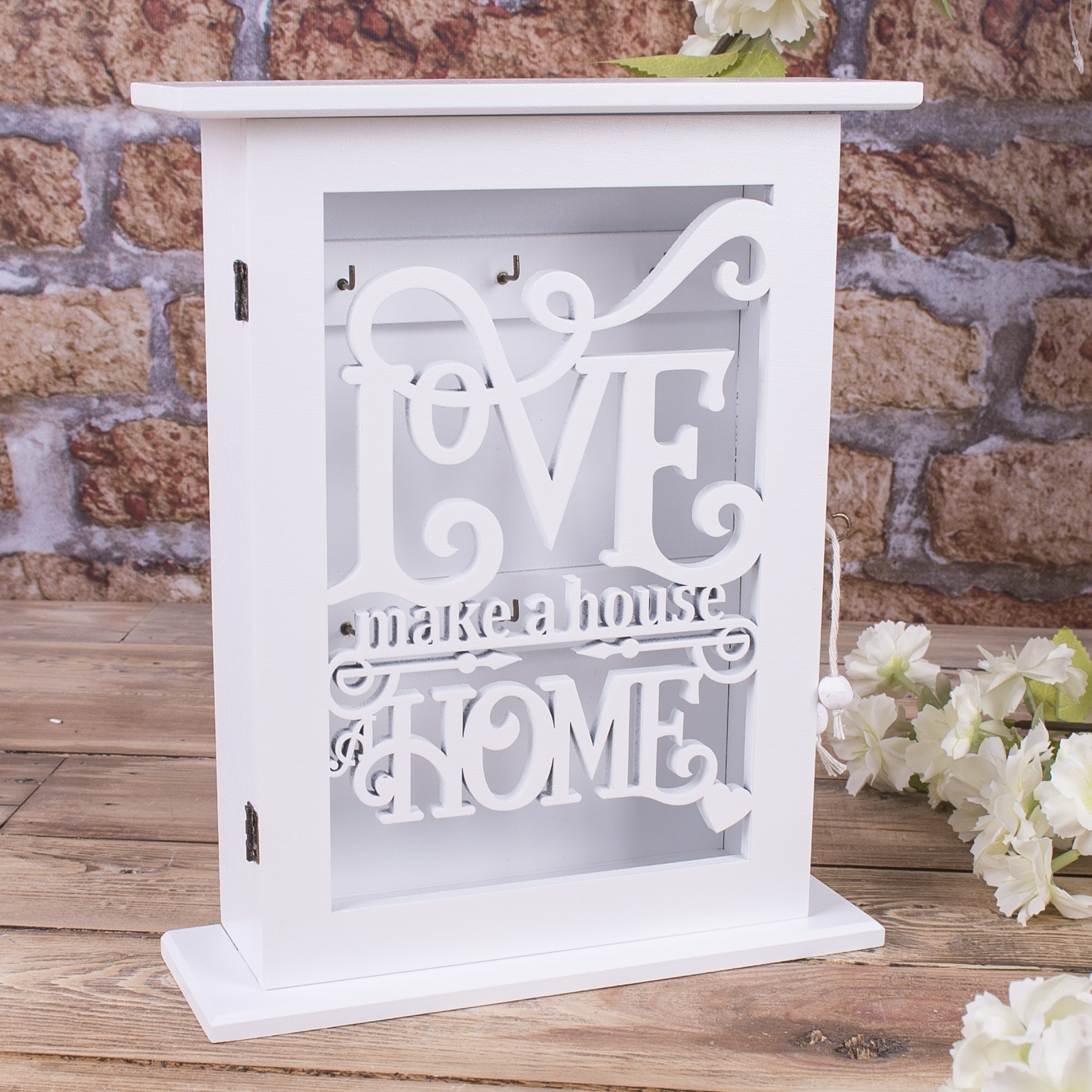 "ключница ""love make a house home"""