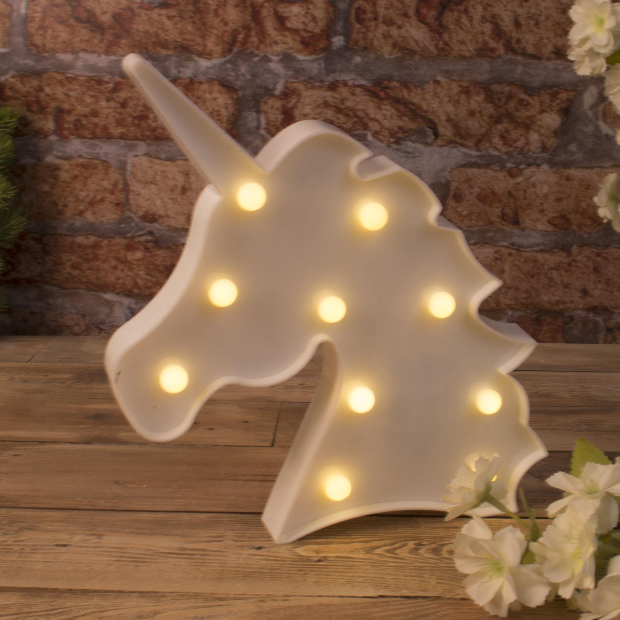 Статуэтка LED единорог