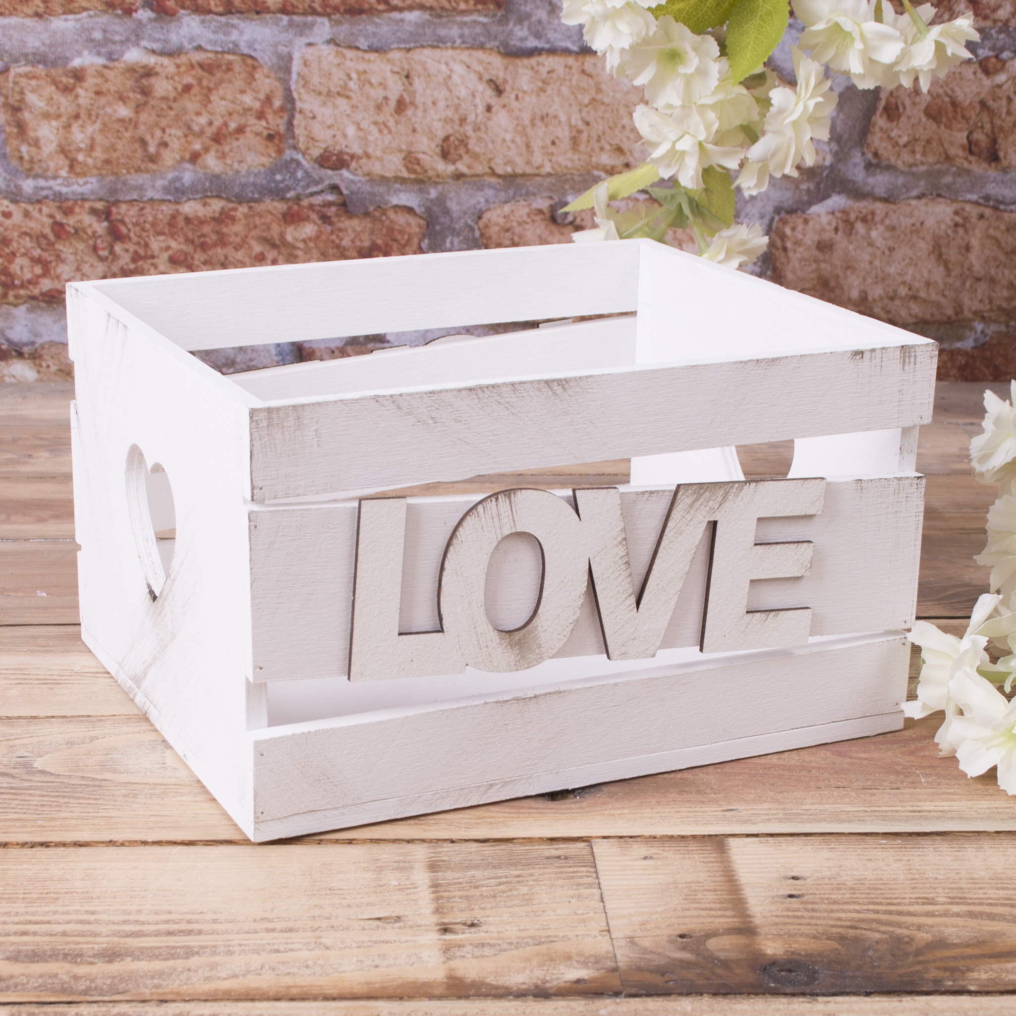 Ящик с косой планкой Love (маленький)