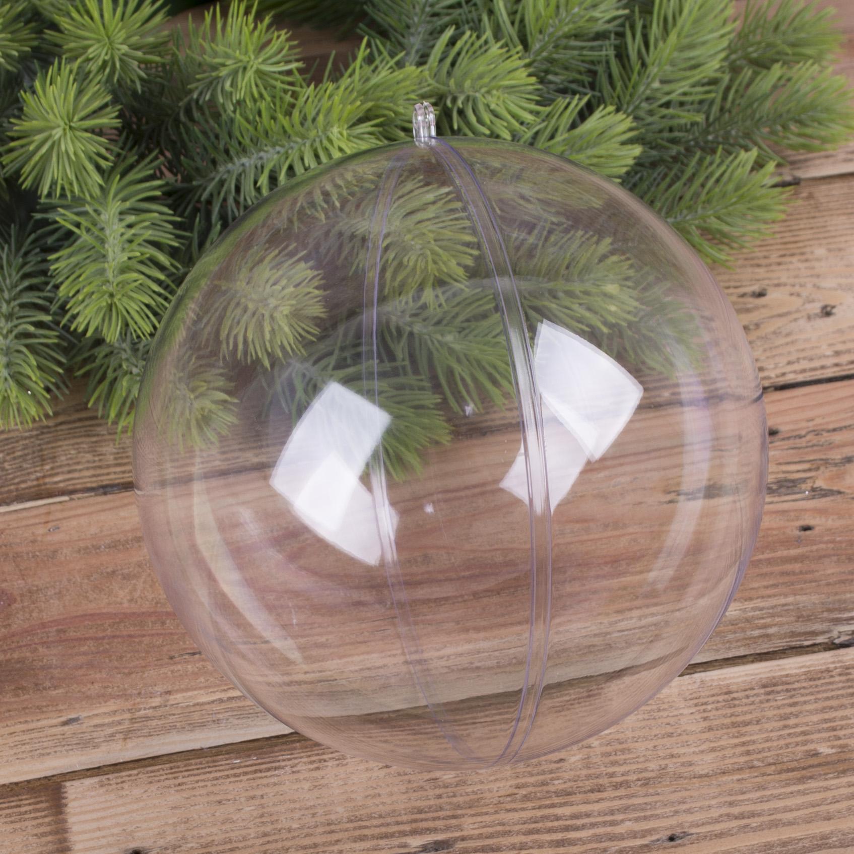 пластикова підвісна куля велика розкладна (16 см)