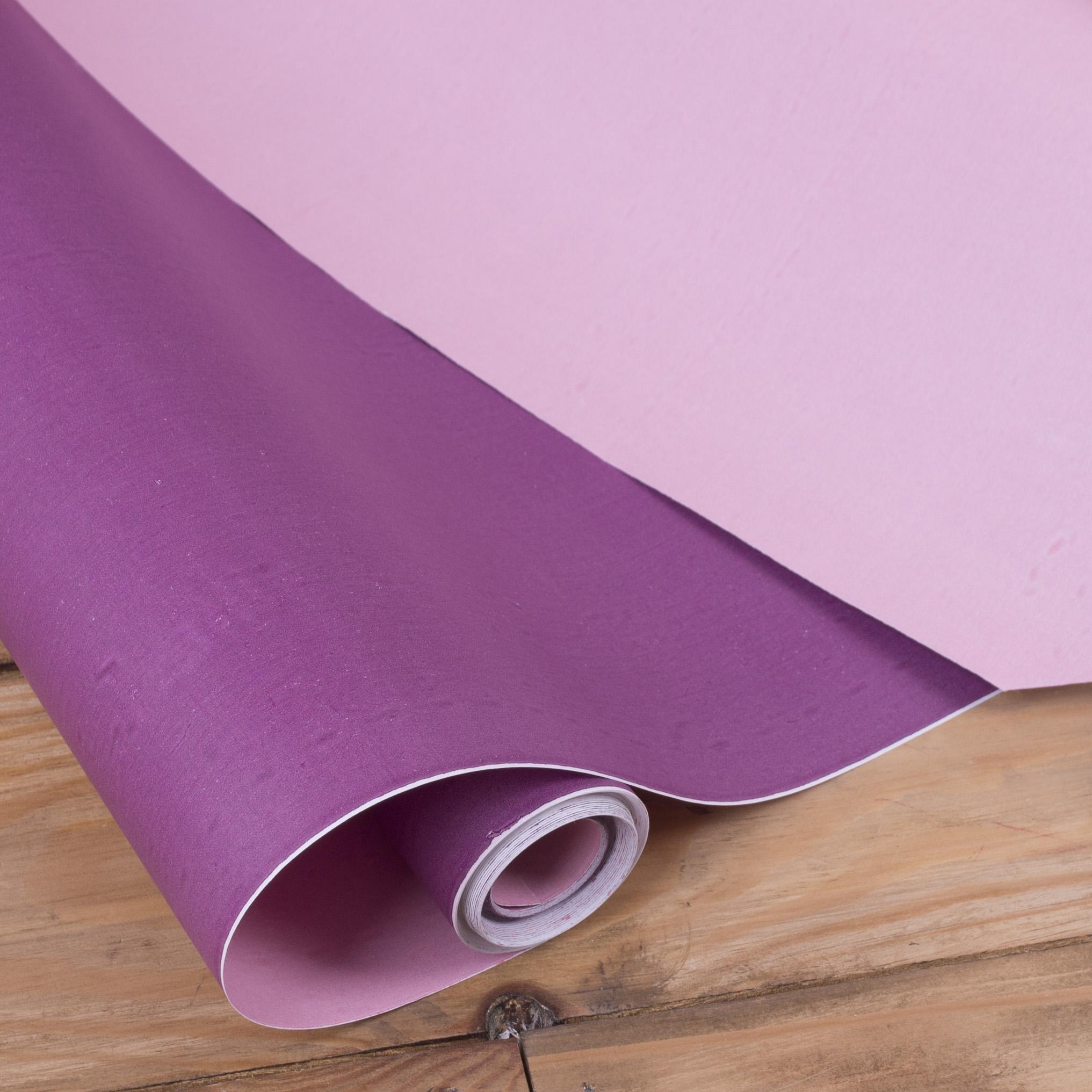 """бумага двусторонняя """"фиолет+розовый"""""""