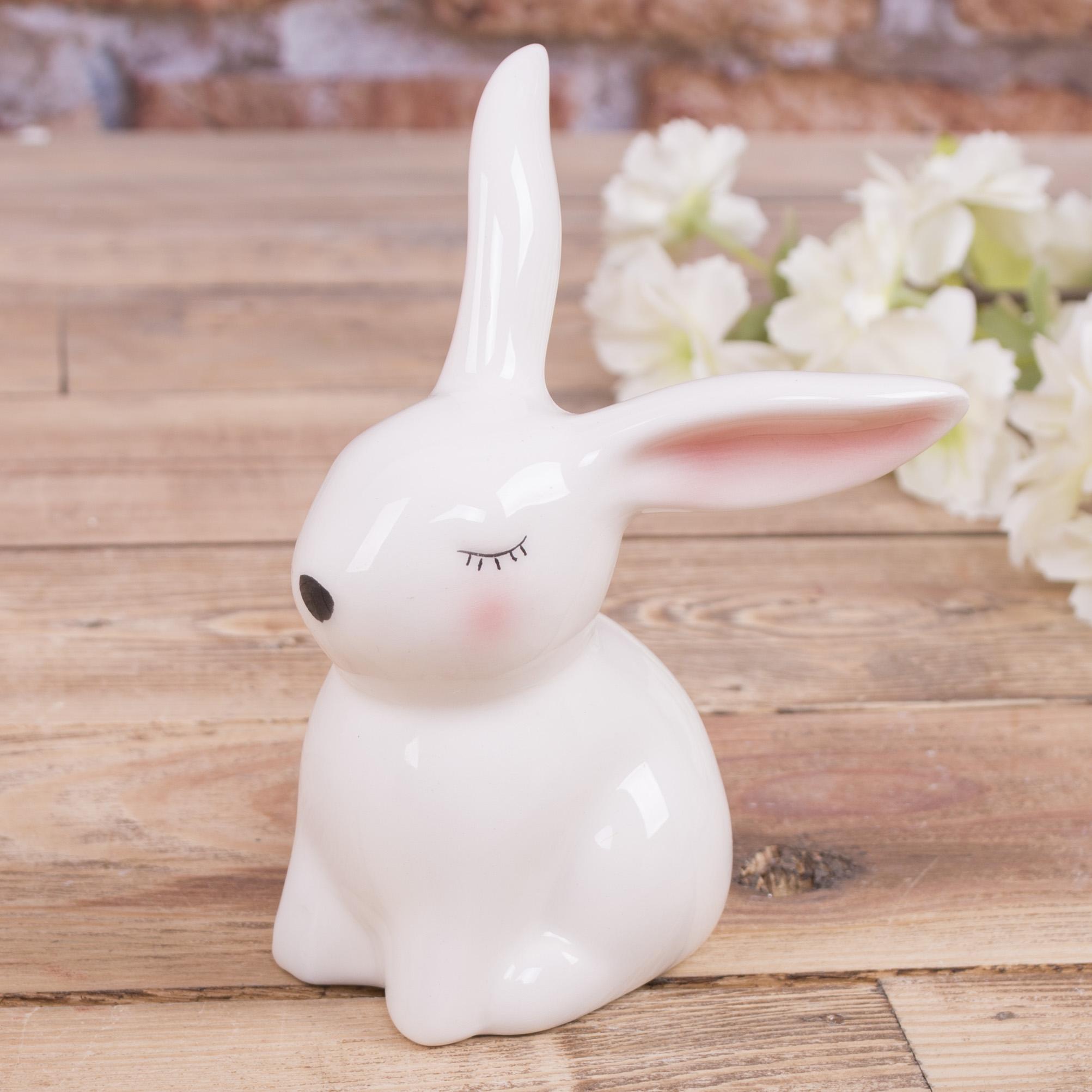 "статуетка заєць ""соромязливий"" маленький 8см"