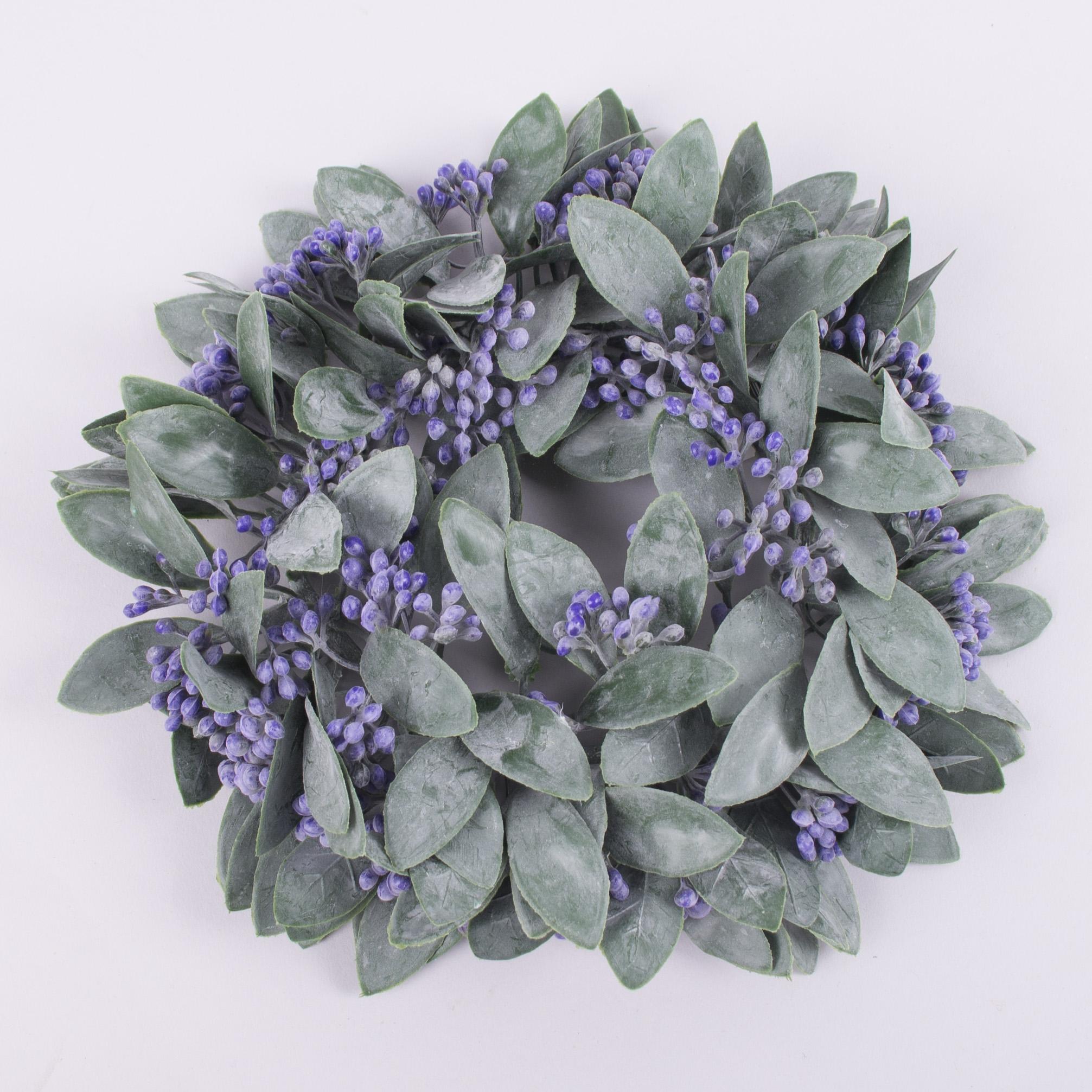 венок из травы каланхоэ фиолетовый