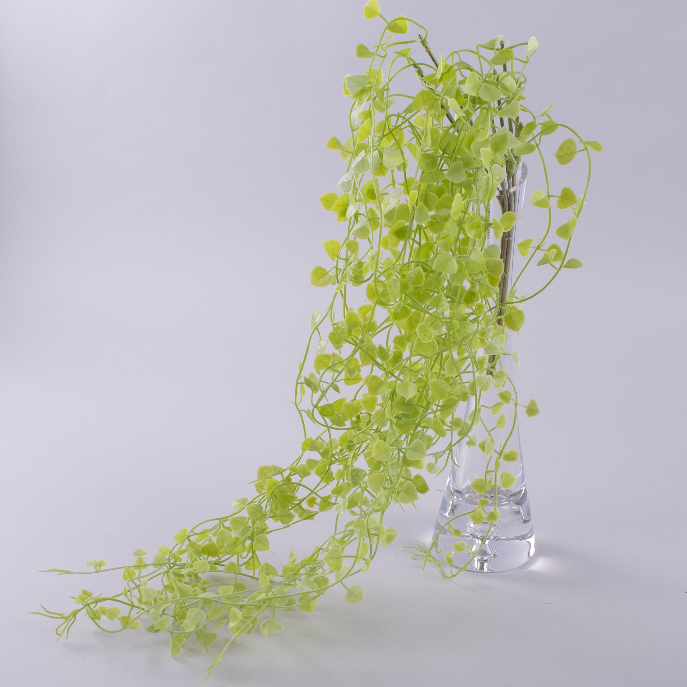 трава звисаюча штучна салатова