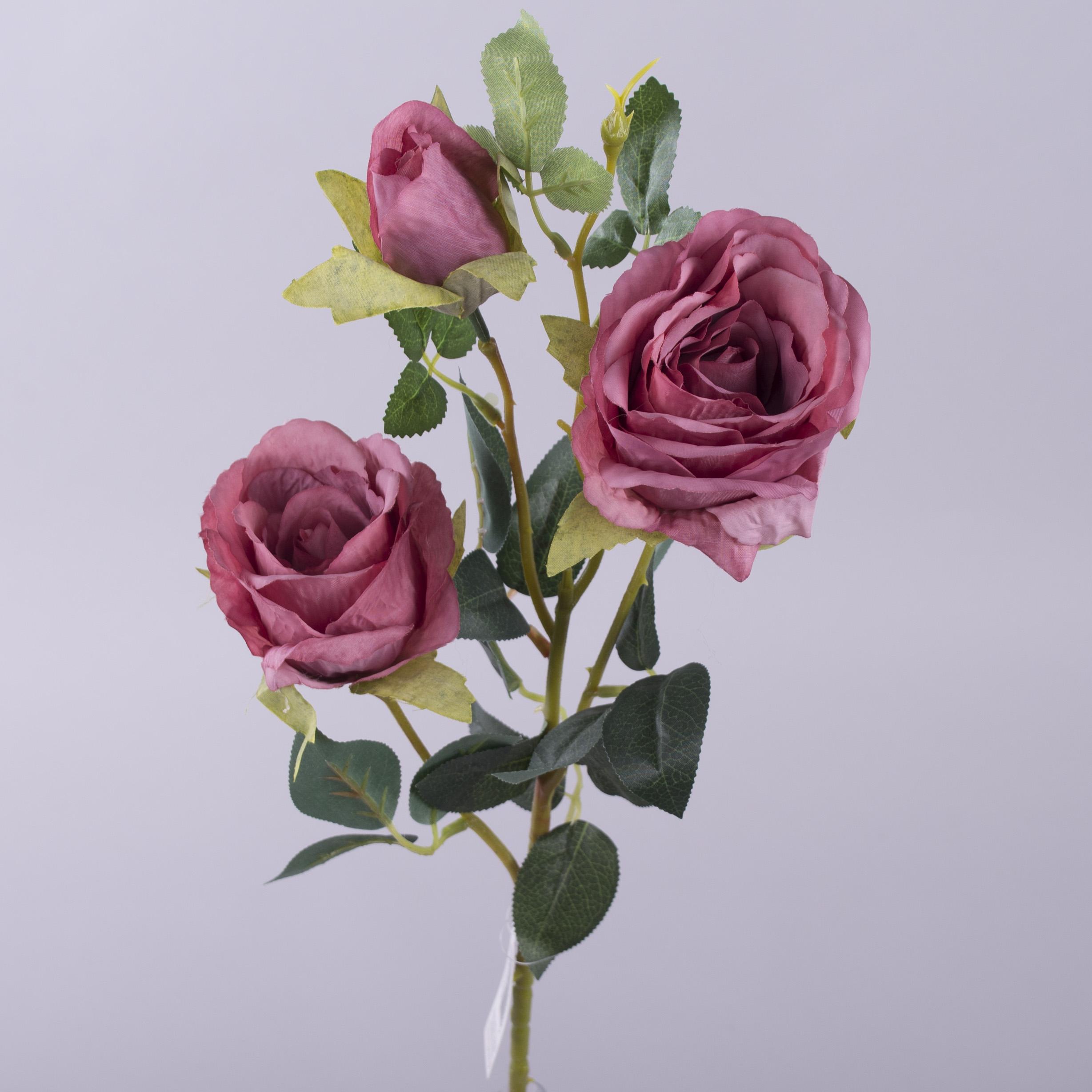 """Роза """"мятая"""" тройная  премиум"""