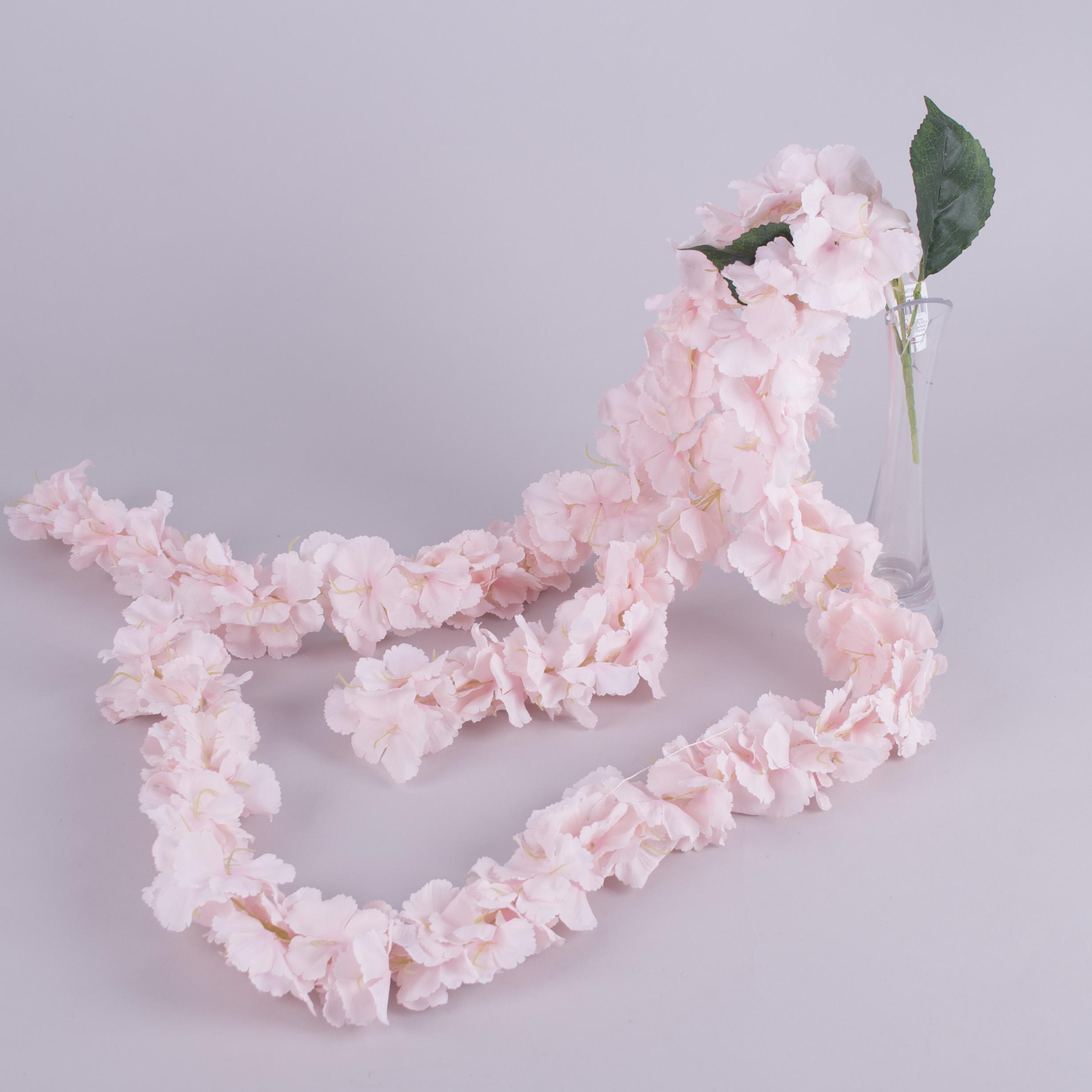 звисаюча гортензія кучерява 110см рожева