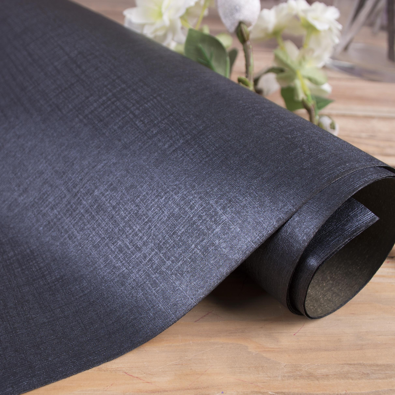 бумага прорезиненная фактурная  (черная)