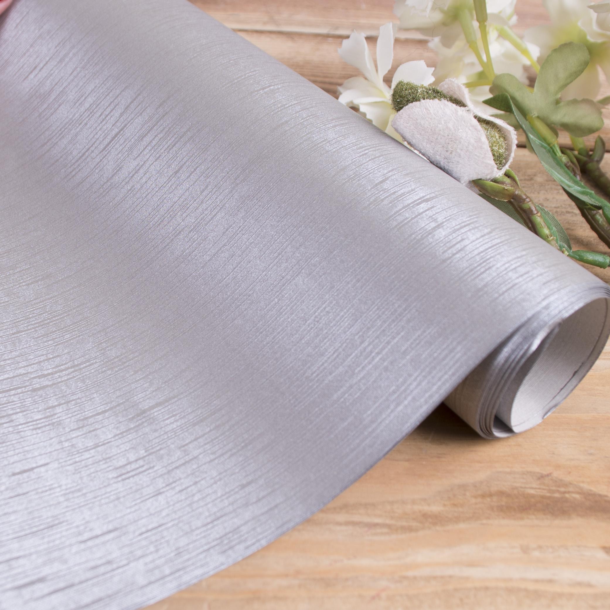 бумага фактурная с тиснением (серебро в полоску)