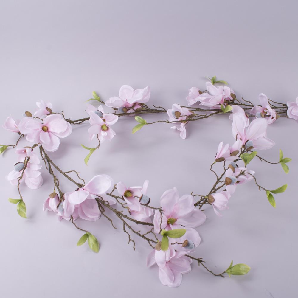 гірлянда з цвіту магнолії (рожева)