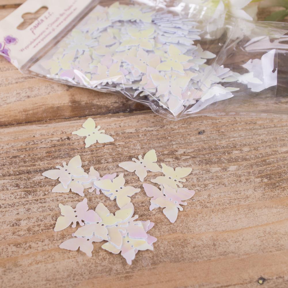 """пайетки """"перламутровые бабочки"""""""