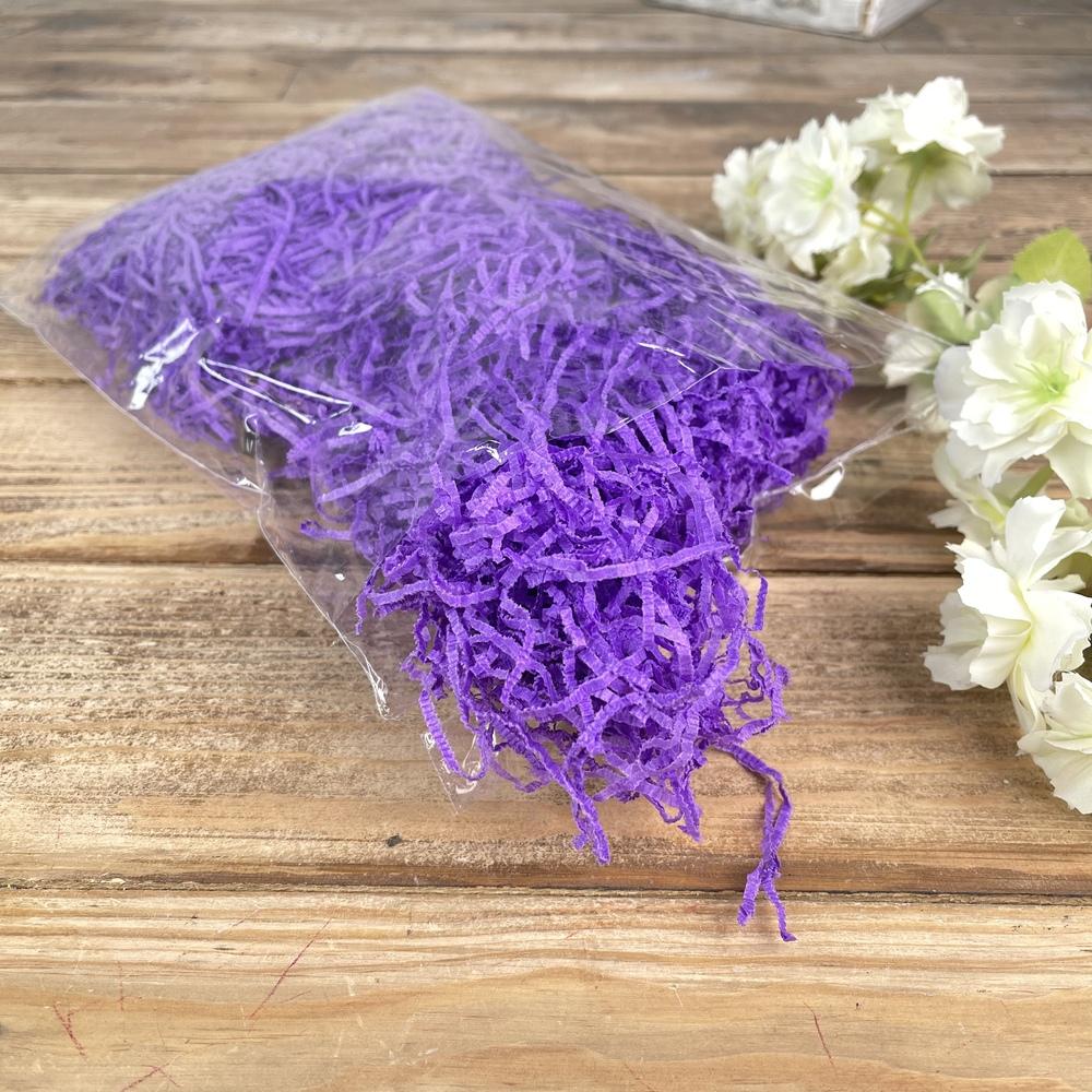 """наполнитель""""тишью"""" фиолетовый (50 грамм)"""