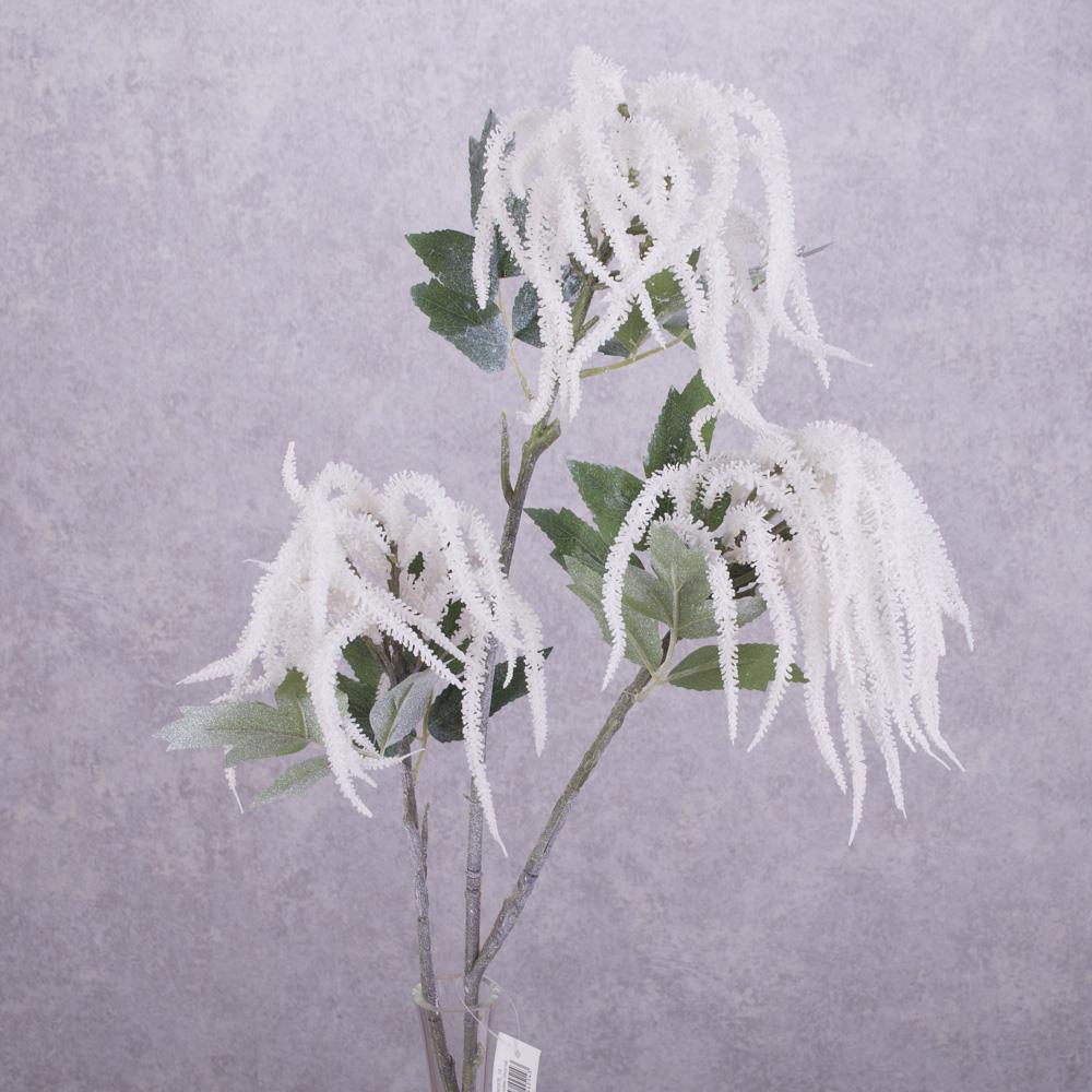 ветка амарант латексный белый
