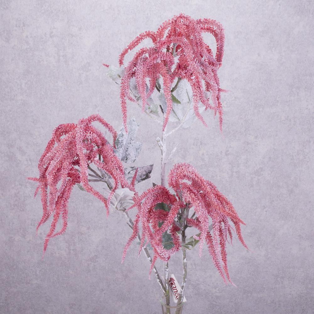 ветка амарант латексный розовый