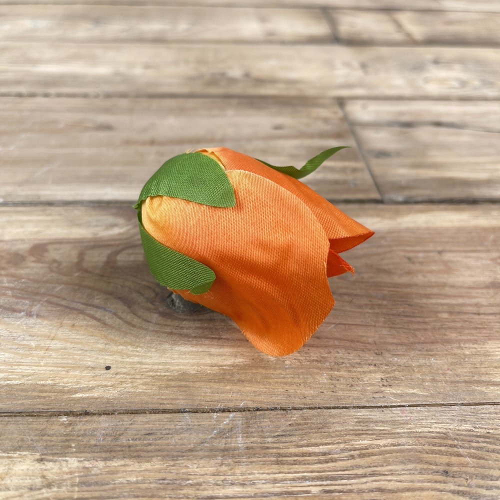 """головка розы """"оклахома"""" оранжевая"""